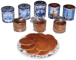 Tin Syrup Waffle Cans